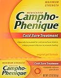 Campho-Phenique Cold Sore Treatment, Maximum Strength, Original Gel Formula, 0.23 Fl Oz (Packaging May Vary)