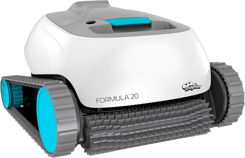 Poolaria Dolphin Formula 20 - Robot limpiafondos para Piscinas (Fondo y Paredes)