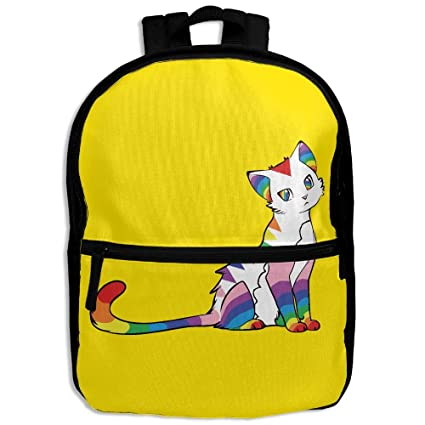 Amazon Com Cool Cat Comics Kids Backpack For Boys Girls Fit Toy