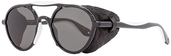 GIVENCHY Unisex s GV 7038 S NR TEM Sunglasses, Black White Brown, 50 ... cbbfd7bbf6e2