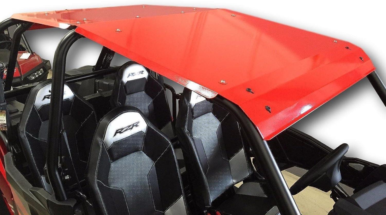 2014-2019 4-Door Polaris RZR XP 1000//Turbo//900 Aluminum Roof Red