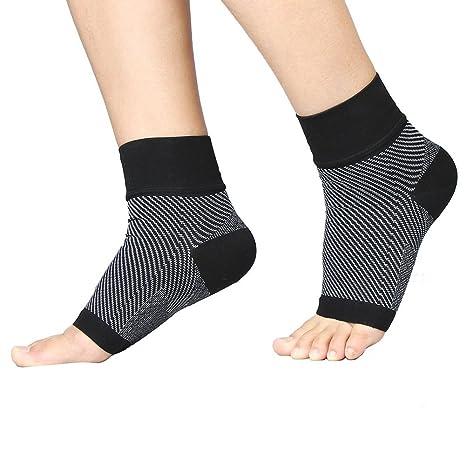Fascitis Plantar pie calcetines de compresión de calcetines – Apoyo Dolor de Talón, Arco y