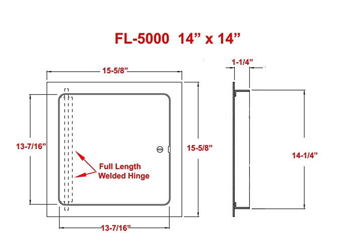 Amazon.com : Premier 5000 Series Commercial Grade Steel Access Door on assembly diagram, installation diagram, instrumentation diagram, solar panels diagram, telecommunications diagram, troubleshooting diagram, rslogix diagram, plc diagram, panel wiring icon, drilling diagram, electricians diagram, grounding diagram,
