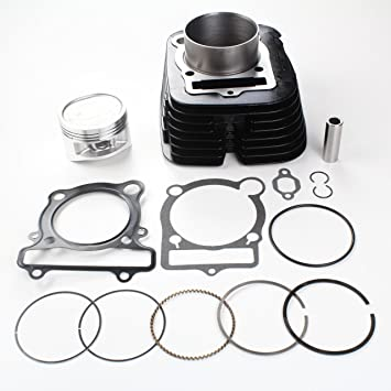 Amazon Com Niche Cylinder Piston Gasket Kit For Yamaha Big Bear 400