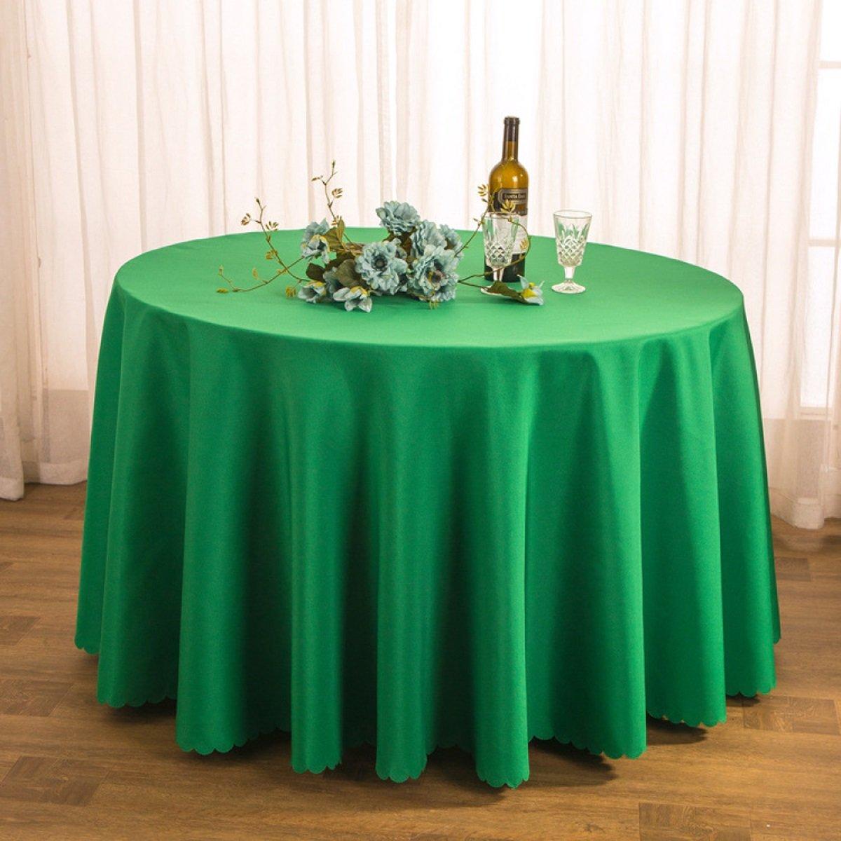 Tao Tischtuch Tischdecke Stoff Tee Tischdecke Hotel Restaurant Polyester Tischdecke Konferenztisch Rock Hochzeit Jacquard Runde Tischdecke Öl-Besteändig Leicht zu reinigen (Farbe   D, größe   300cm) B07CSRYQKG TischdeckenHervorragende