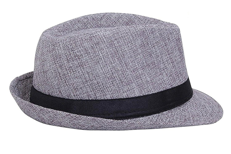 9eee7ecd74a229 Fedora Hats I Stylish Hats I Designer Fedora Hats For Womens I Classic Fedora  hats for Mens(Grey): Amazon.in: Clothing & Accessories