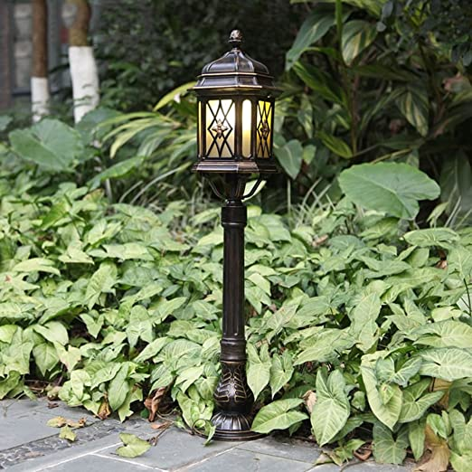 Lámparas de pie del jardín del Chalet del jardín de la luz de la lámpara del