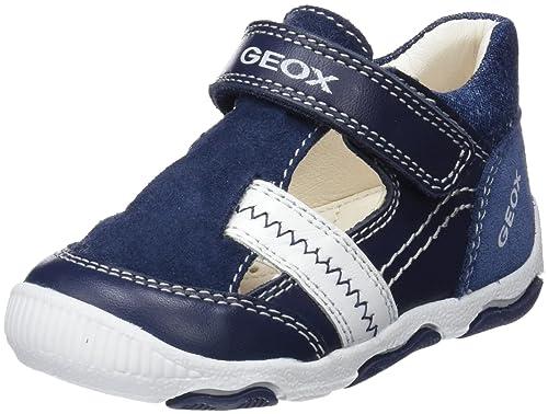 Geox B New Balu' D, Zapatillas para Bebés, Azul, 25 EU