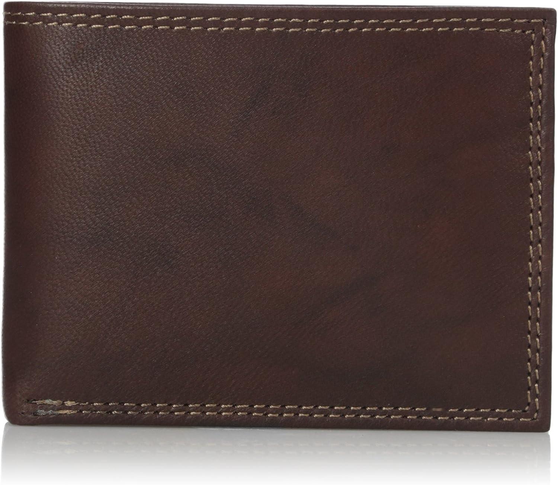 Buxton mens Hunt Credit Card Billfold Wallet Wallet
