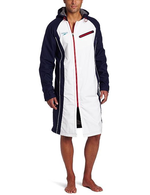 Amazon.com: Speedo Men's Team Collection Unisex USA Swim Parka, US ...