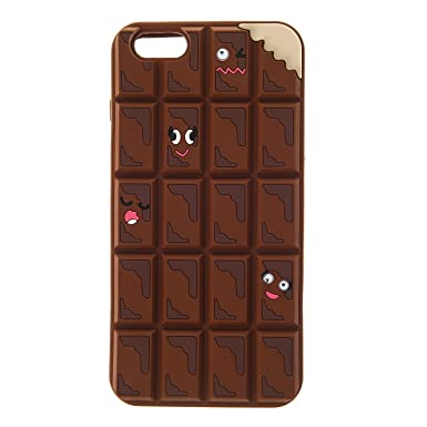 pretty nice 7b86c a59e2 Claire's Girls and Womens Chocolate Phone Case - Iphone 6/6S Plus in ...