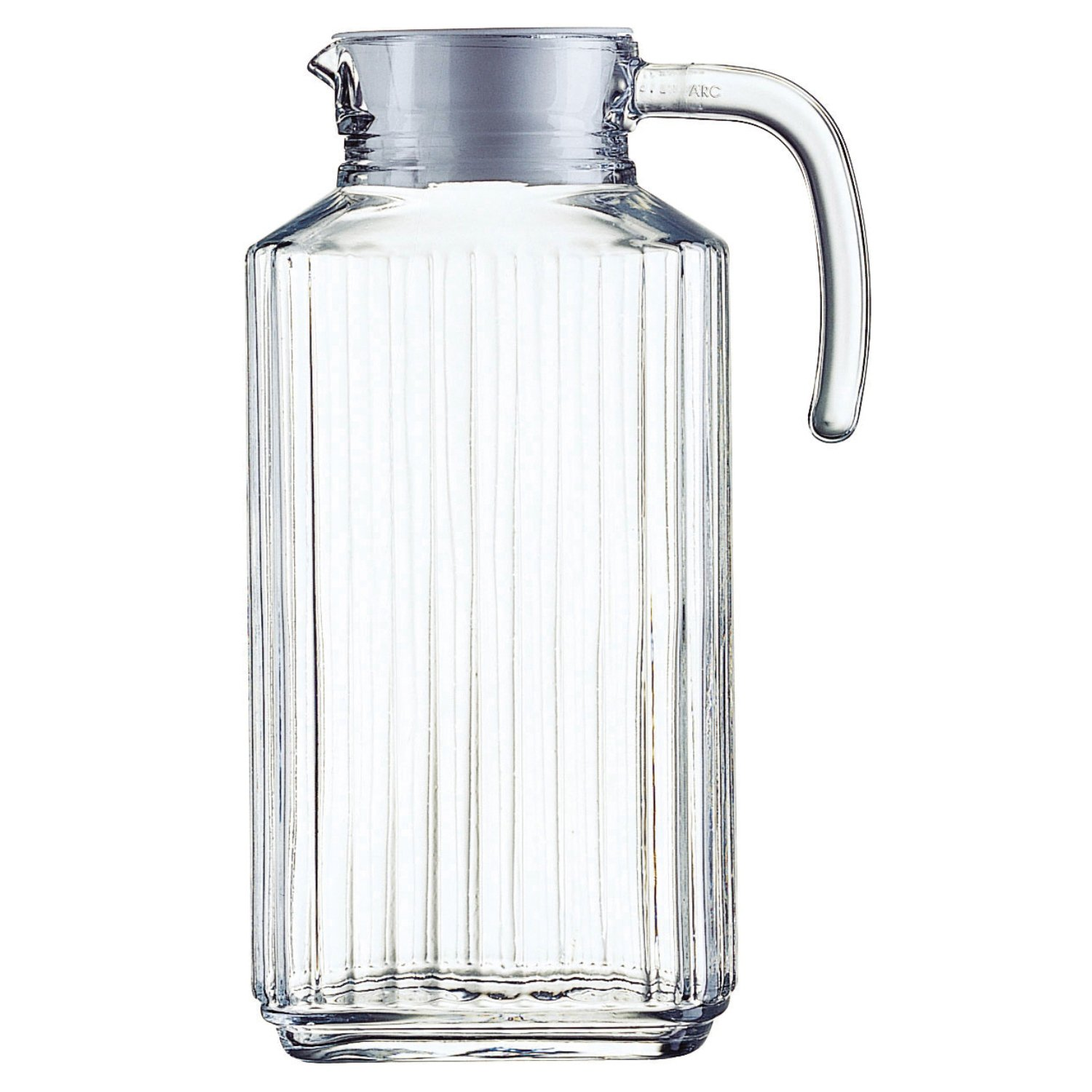 amazoncom  blockhouse quadro glass pitchers  oz quadro  - amazoncom  blockhouse quadro glass pitchers  oz quadro jugscarafes  pitchers