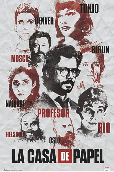 Poster La Casa de Papel Locandina - Formato 42x30 cm A