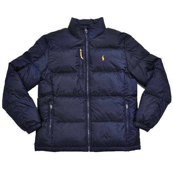 Polo Ralph Lauren Men's Down Jacket Winter Coat XXL at Amazon ...
