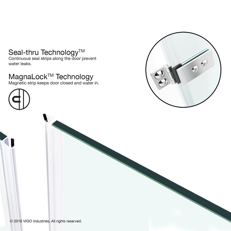shower door magnetic strip replacement
