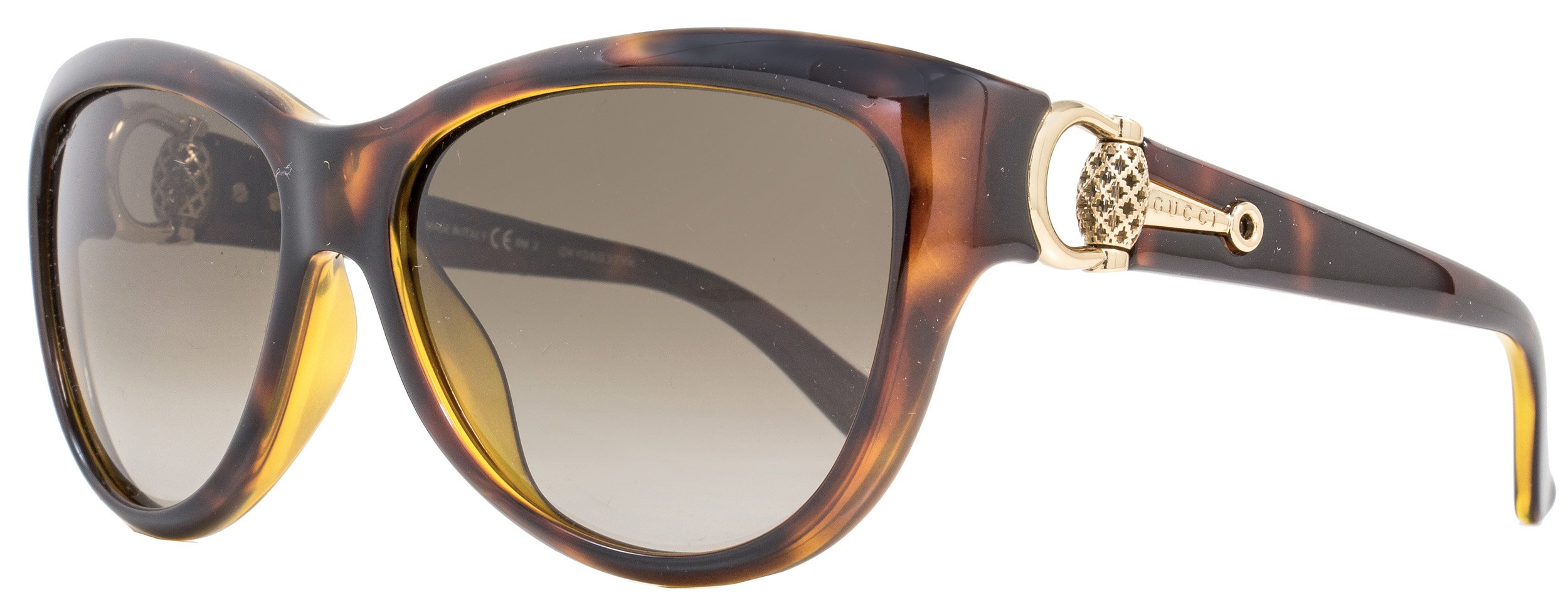 Gucci Women's GG 3711/S Chocolate Havana/Brown Gradient Sunglasses by Gucci (Image #1)