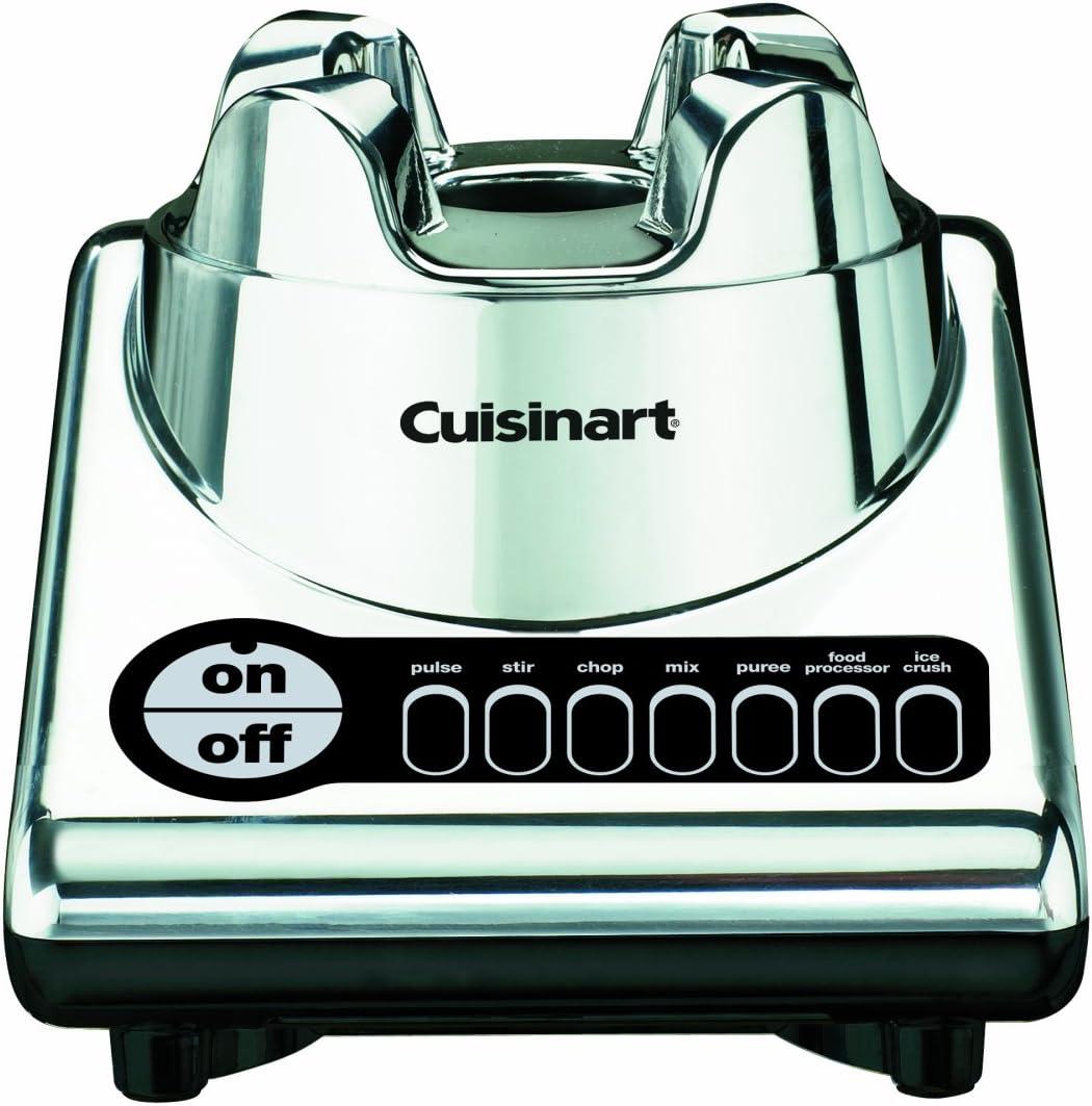 Cuisinart bfp-10ch powerblend Duet batidora robot de cocina (cromo ...
