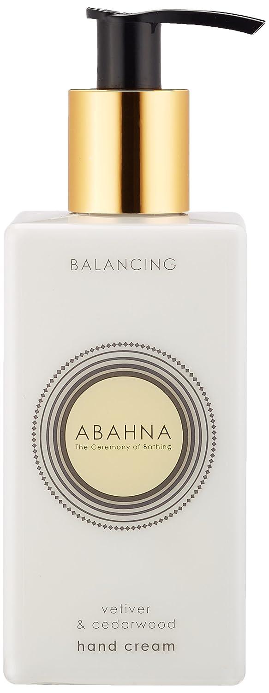 Abahna Vetiver and Cedarwood Hand Cream 250 ml ABV29