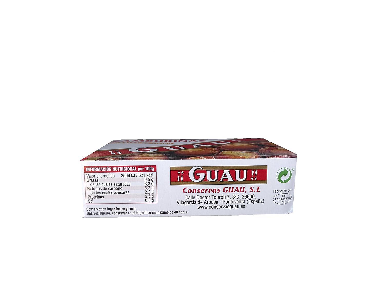 Guau Zamburiñas En Salsa De Vieira - Paquete de 5 x 111 gr - Total: 555 gr