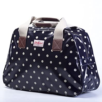 Cath Kidston Overnight Weekend Travel Bag Navy Blue Spot  Amazon.co.uk   Shoes   Bags cd83e6907fc42