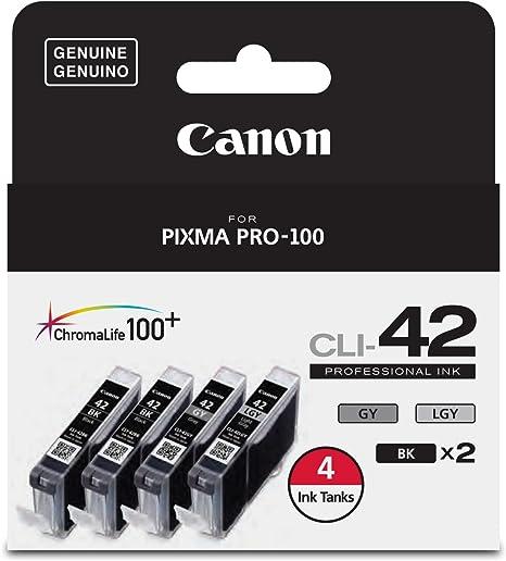 Amazon.com: Canon CLI-42 ChromaLife Value Pack (2 Photo ...
