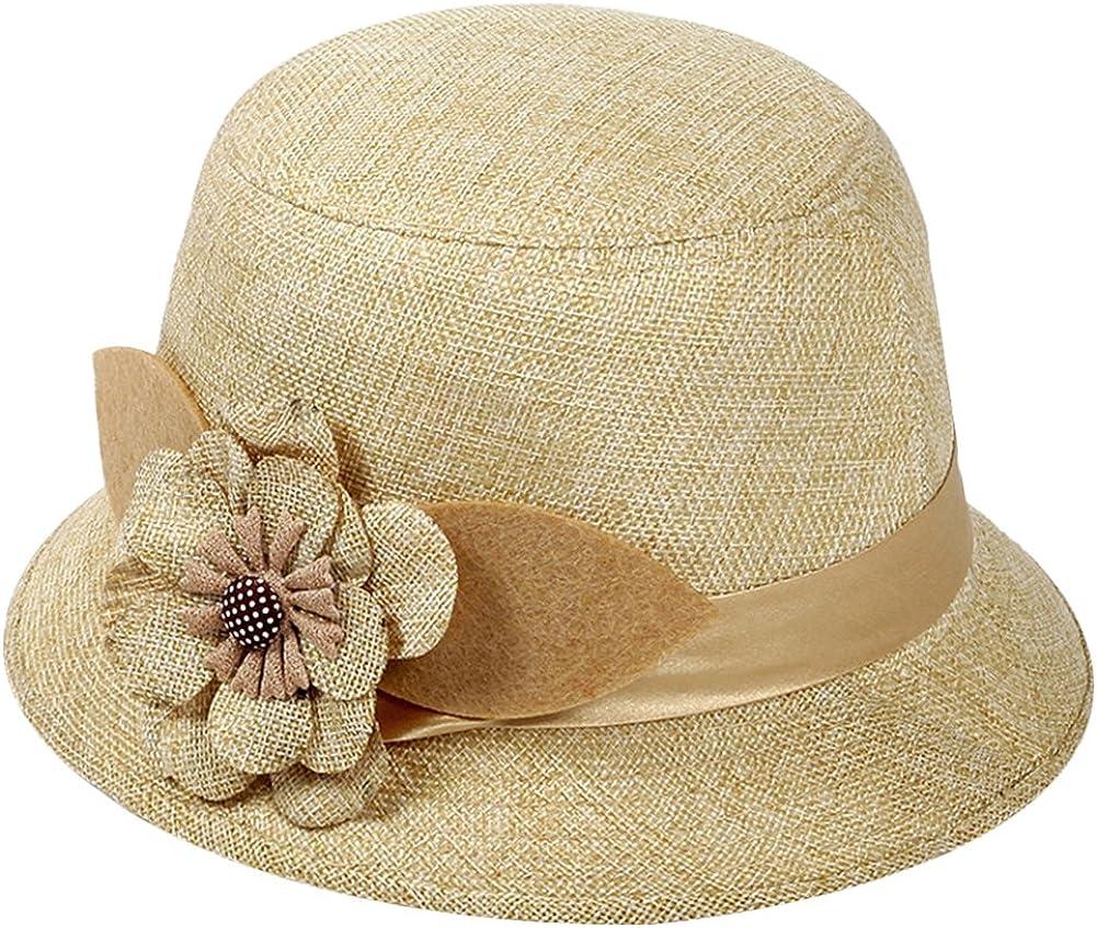 Diffstyle Women Cloche Hat...