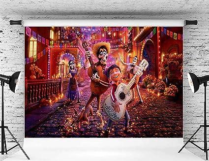 Decoración de Fiesta de cumpleaños Coco, fotografía 5 x 7 ...