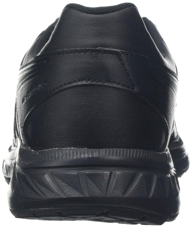 ASICS Damen Gel-Contend 5 Sl Laufschuhe, Noir/Gris Foncã Schwarz (Black/Black 001)