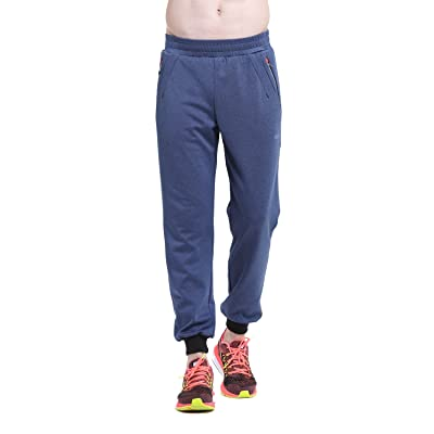 ZOANO Men's Athletic Workout Joggers Running Pants with Pockets