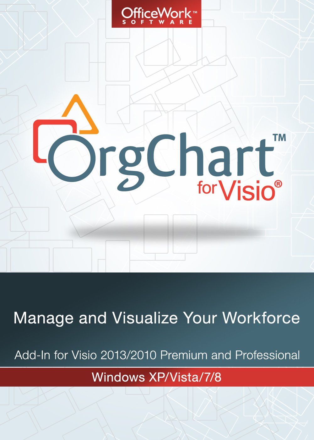 OrgChart for Visio 500 Charting Limit [Download] by OfficeWork Software, LLC