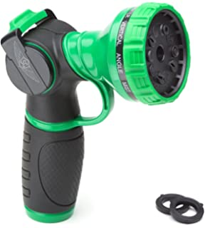 Metal Garden Hose Nozzle Anti Leak Heavy Duty 10 Pattern Anti Rust No