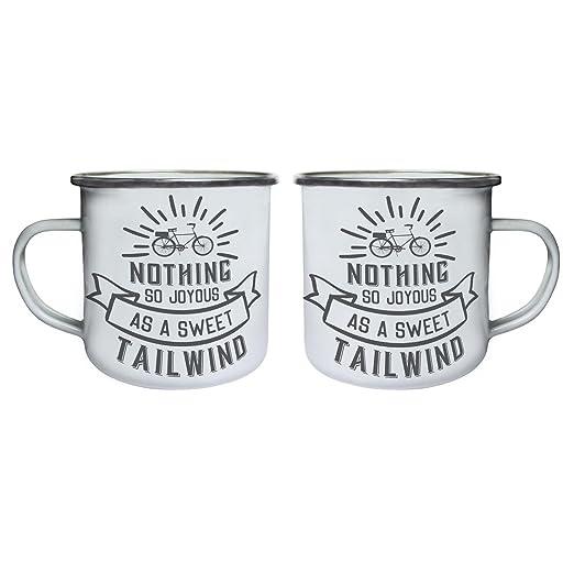 Nothing So Joyous As A Sweet Tailwind Retro,Tin, Enamel 10oz Mug N563e:  Amazon.co.uk: Kitchen U0026 Home
