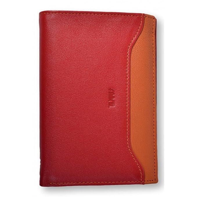 Con portafotos hombre marca FANCIL-Cartera para hombre, Rojo (rojo), talla única: Amazon.es: Zapatos y complementos