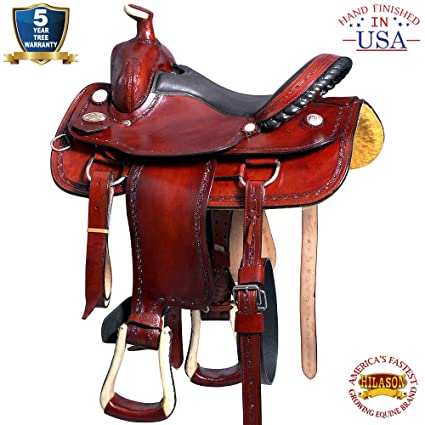 Amazon com : HILASON 15' Big King Western Leather Wade Ranch