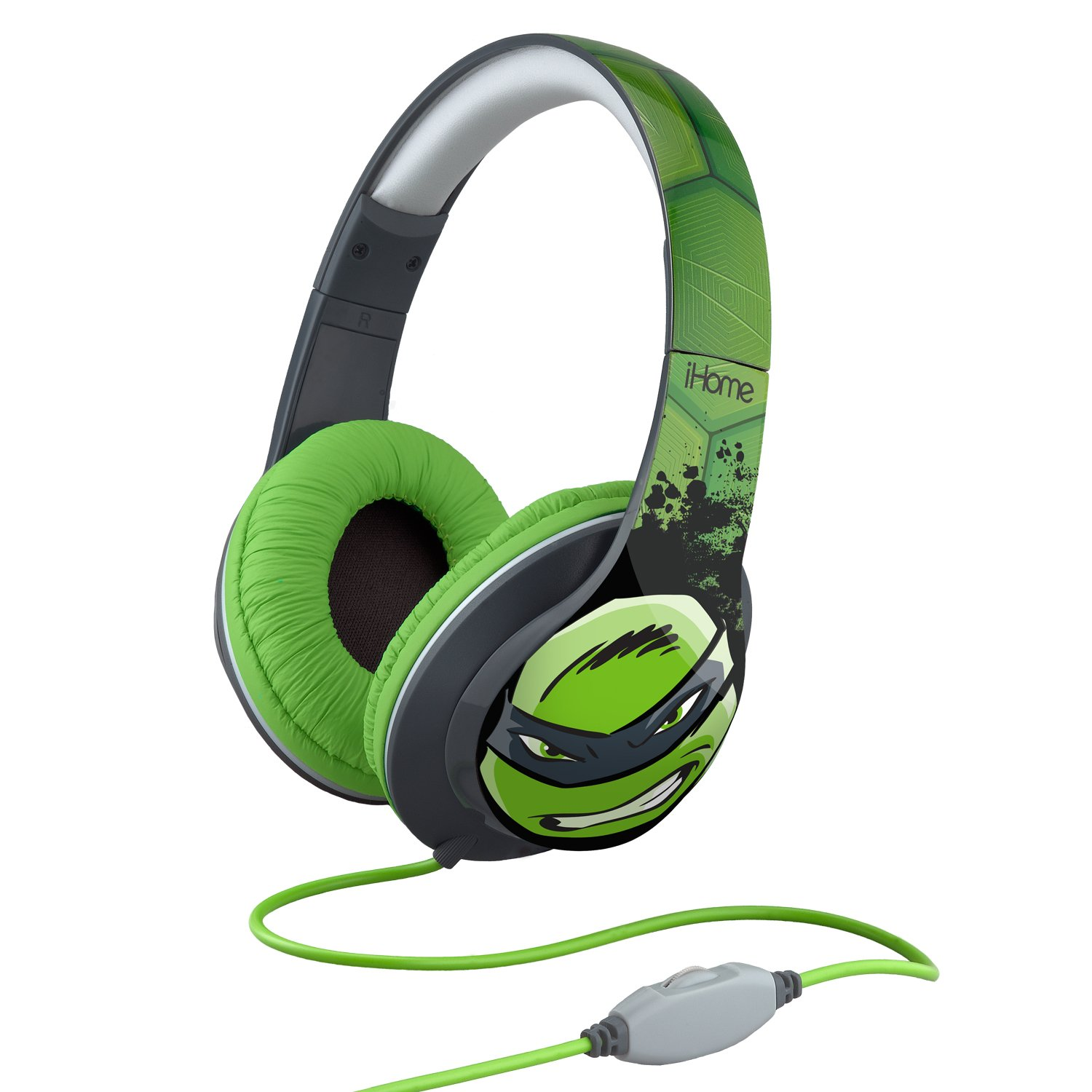 Teenage Mutant Ninja Turtles Over-The-Ear Headphones with Volume Control, Ni-M40TM