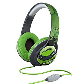 Amazon.com: eKids Over-the-Ear Headphones Tortugas Ninja ...