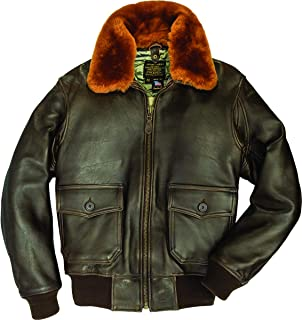 product image for Cockpit USA U.S. Navy Lambskin G-1 Flight Jacket with Quilted Lining