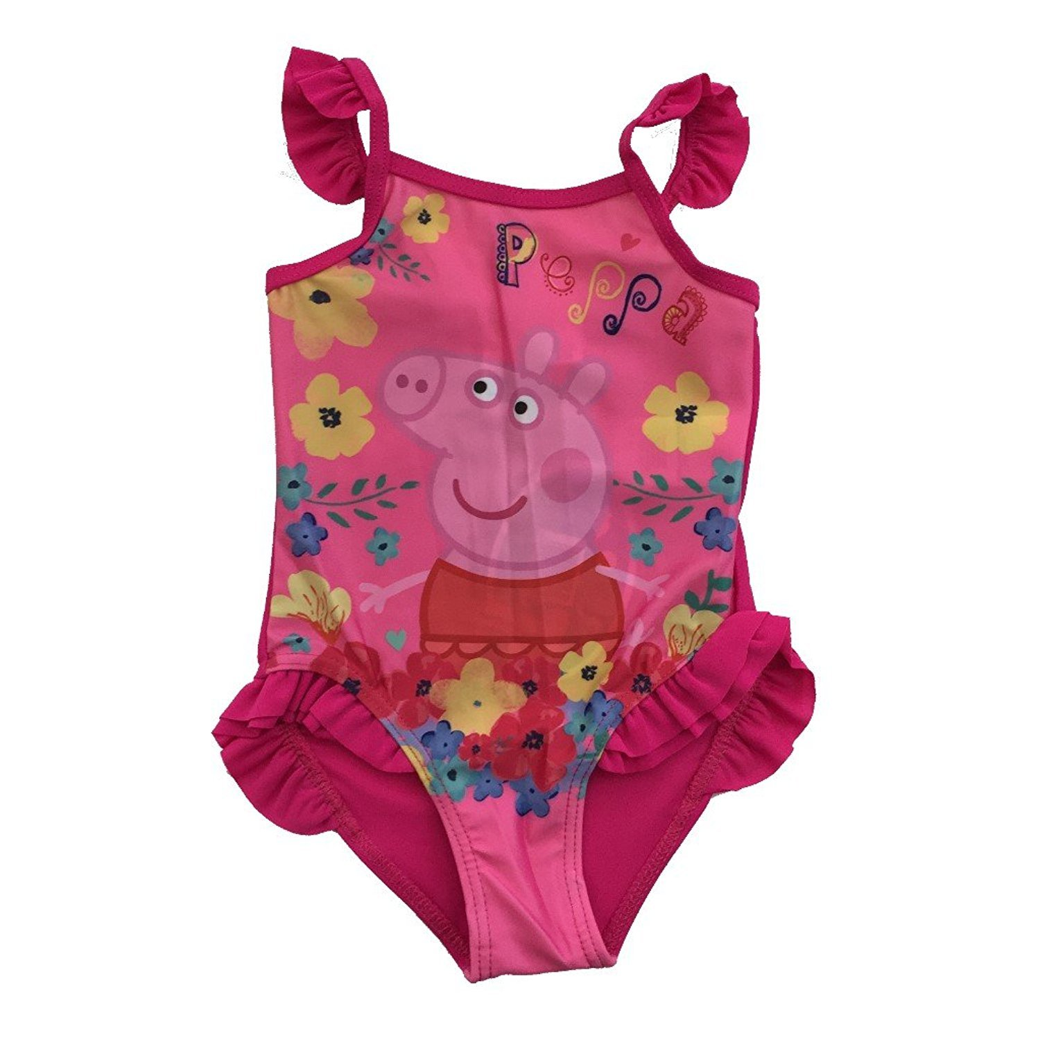 Peppa Pig Kids Boys and Girls Licensed Merchandise Swimming Costume Swimsuit
