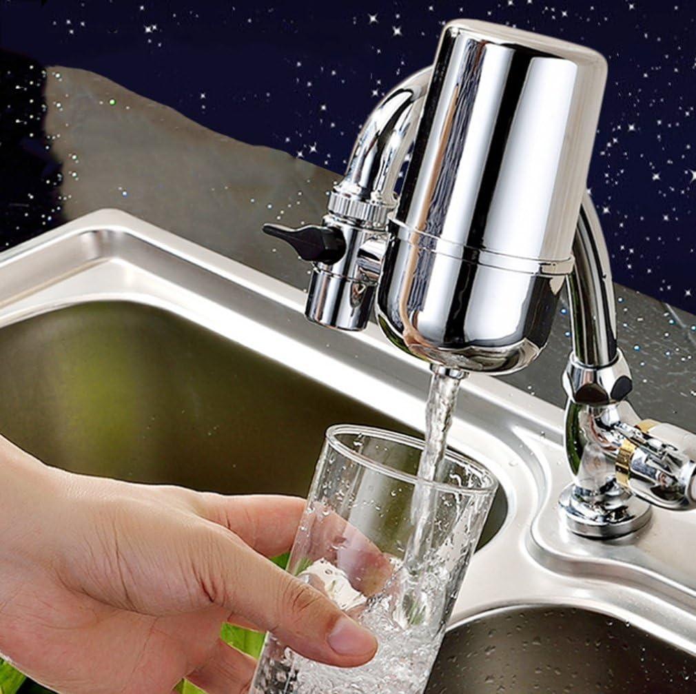 MOQJ Cocina Que Bebe el purificador de Agua del Grifo Filtro de Agua del Grifo Cartucho de Filtro Universal de ósmosis inversa, A: Amazon.es: Iluminación