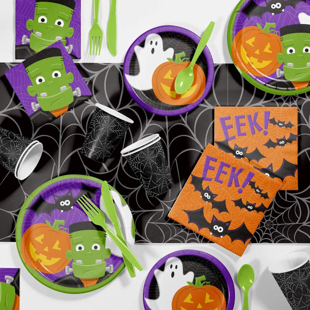 Friendly Halloween Coordinating Party Supplies by Creative Converting