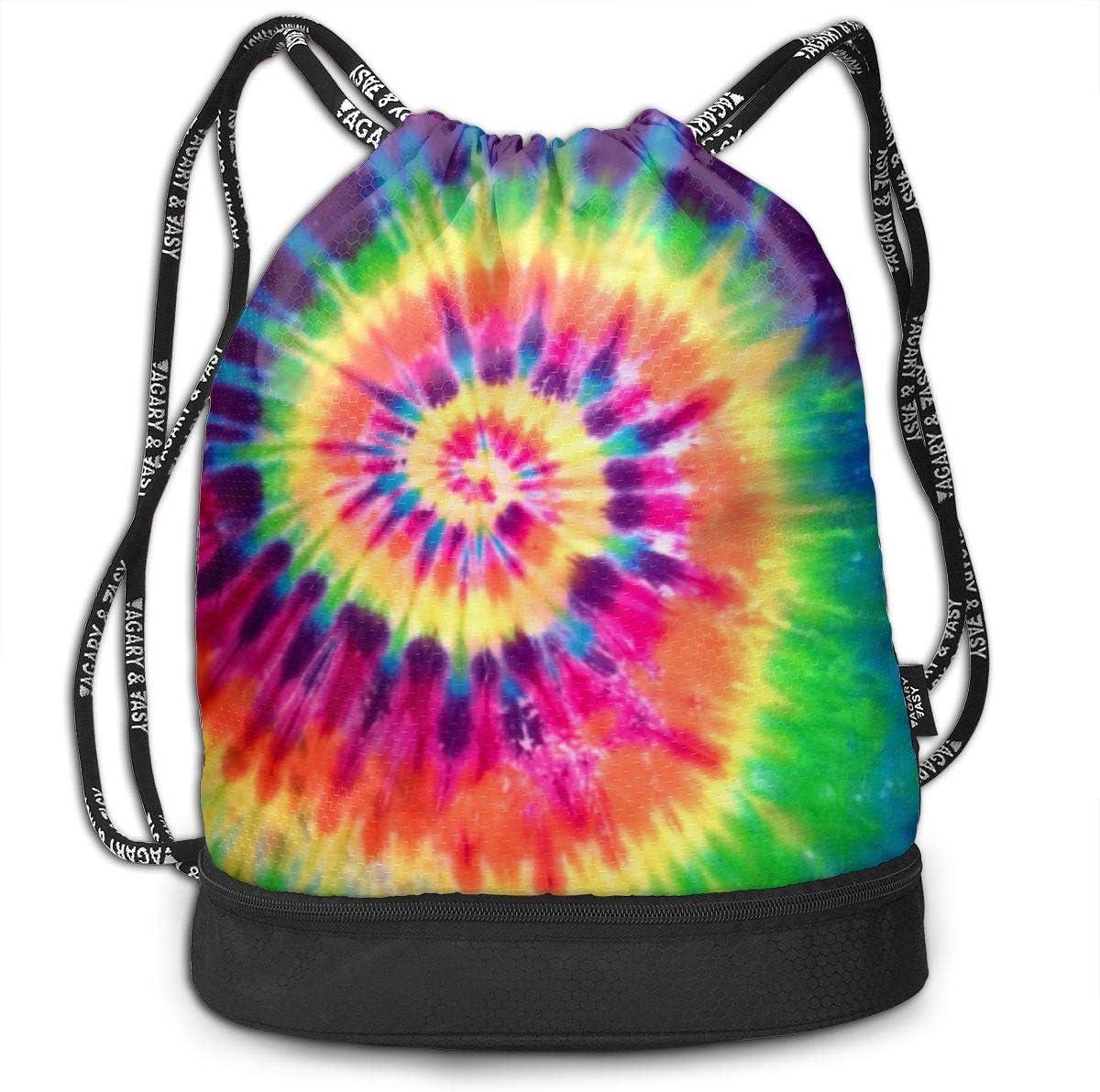 HUOPR5Q Hedgehog Drawstring Backpack Sport Gym Sack Shoulder Bulk Bag Dance Bag for School Travel