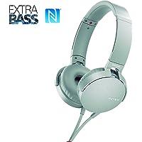 Headphone com Extra Bass, Sony XB550AP, Branco, Médio