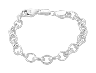 6c21aba02e4c50 ARISIDH Fancy Design 92.5 Pure Sterling Silver Bracelet for Women and  Girls: Amazon.in: Jewellery