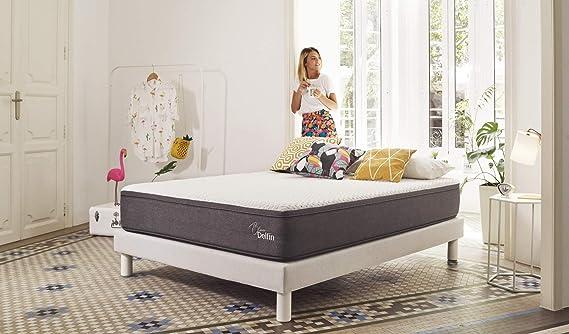 El Mejor Colchón del Mercado. Alto Confort y Máxima Durabilidad. Fabricado con los Mejores Materiales certificados Visco+Latex+HR Foam.