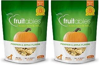 product image for Fruitables Baked Dog Treats Pumpkin & Apple Flavor (2 Pack) 7 oz Each