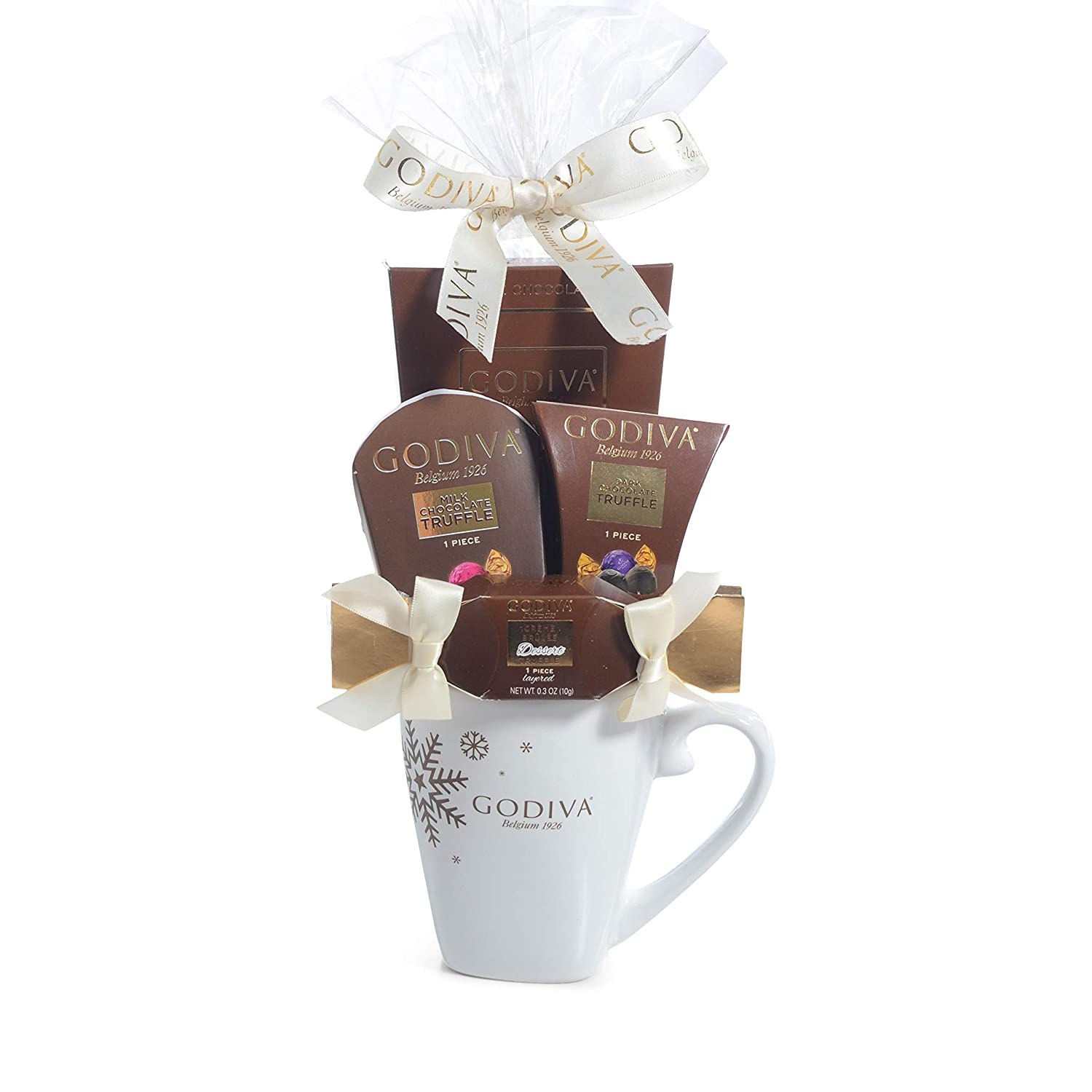 Christmas Gift Sets 2019.Milliard Godiva Mug Chocolate Gift Set 2019 Christmas New Years Holiday Season With Product Protective Packaging