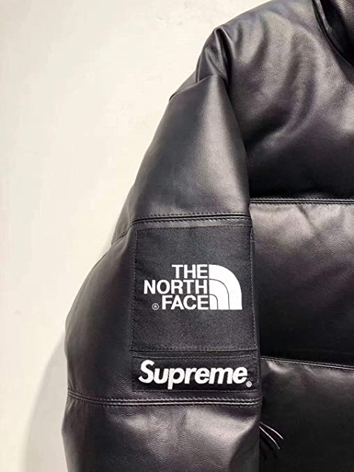 Amazon.com: Supreme x North Face - Chaqueta de piel, M: Clothing
