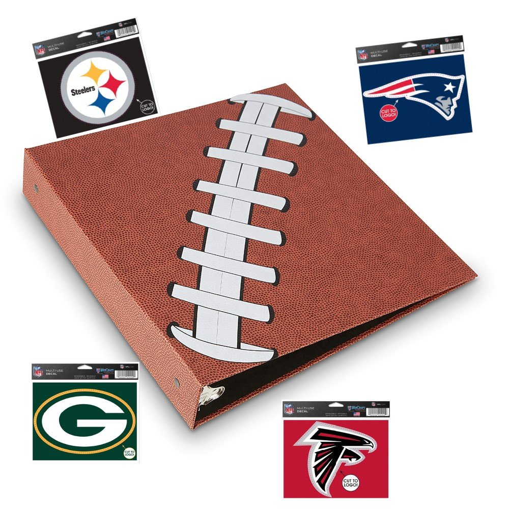 Pigskinz - 3 Ring Football Binder - Embossed Paper Looks and Feels Like a  Real Football