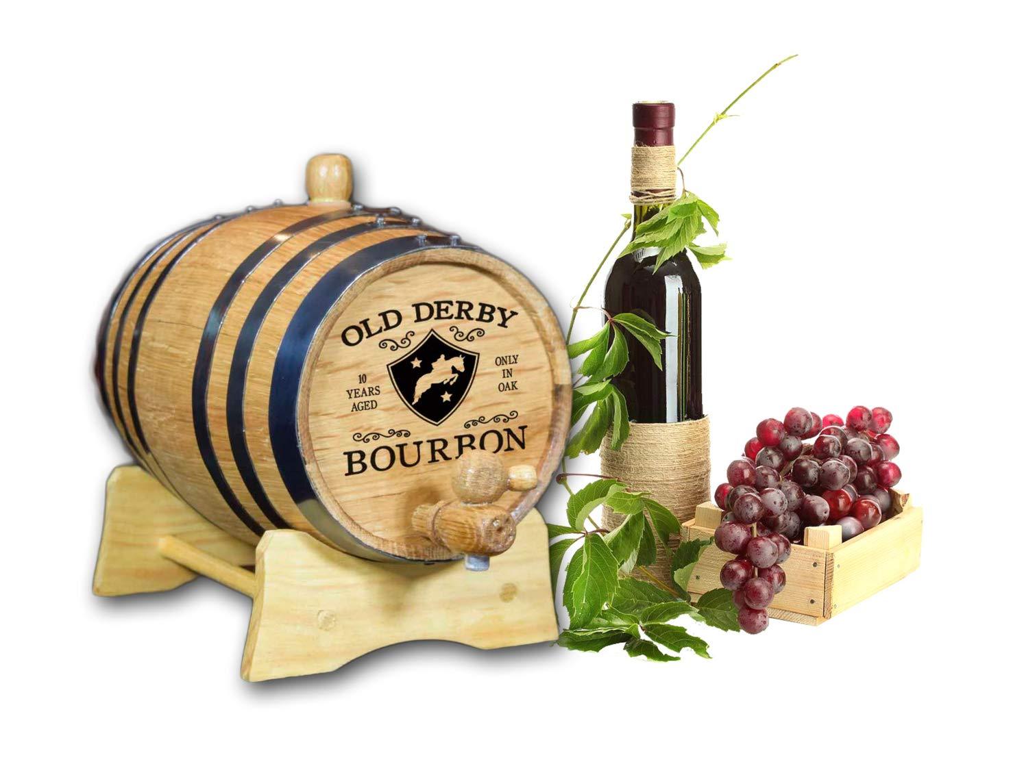 Decorative Bourbon Barrel (B245)