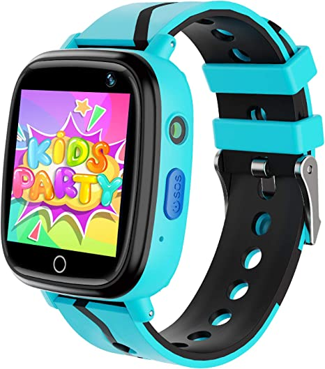 Amazon.com: Reloj inteligente para niños con GPS, LBS ...